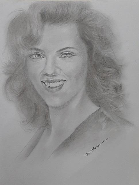 Scarlett Johansson by Bobchew